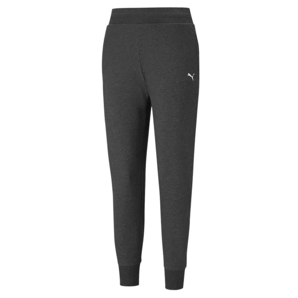 Изображение Puma Штаны Essentials Women's Sweatpants #1: Dark Gray Heather-Cat