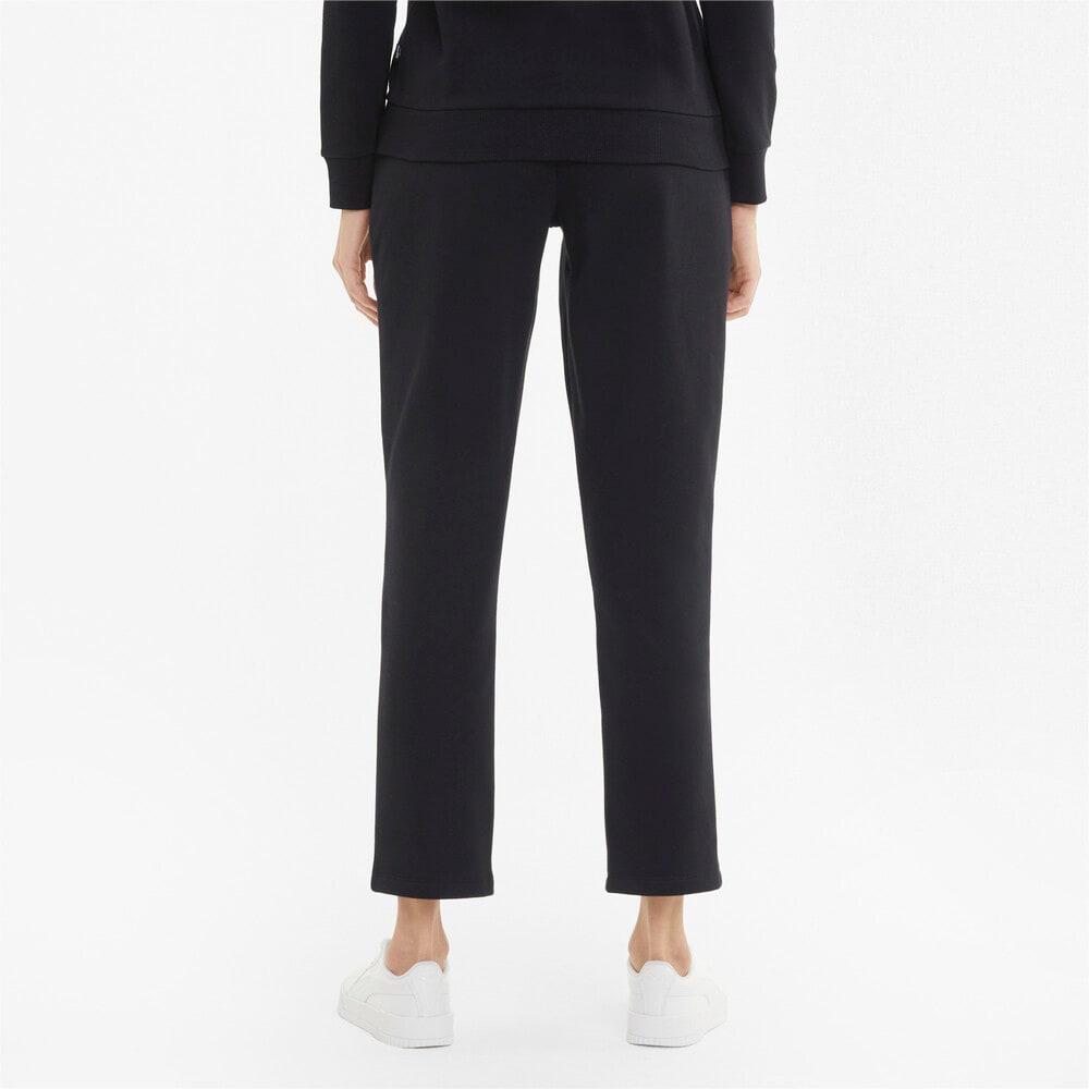 Изображение Puma Штаны Essentials Women's Sweatpants #2: Puma Black