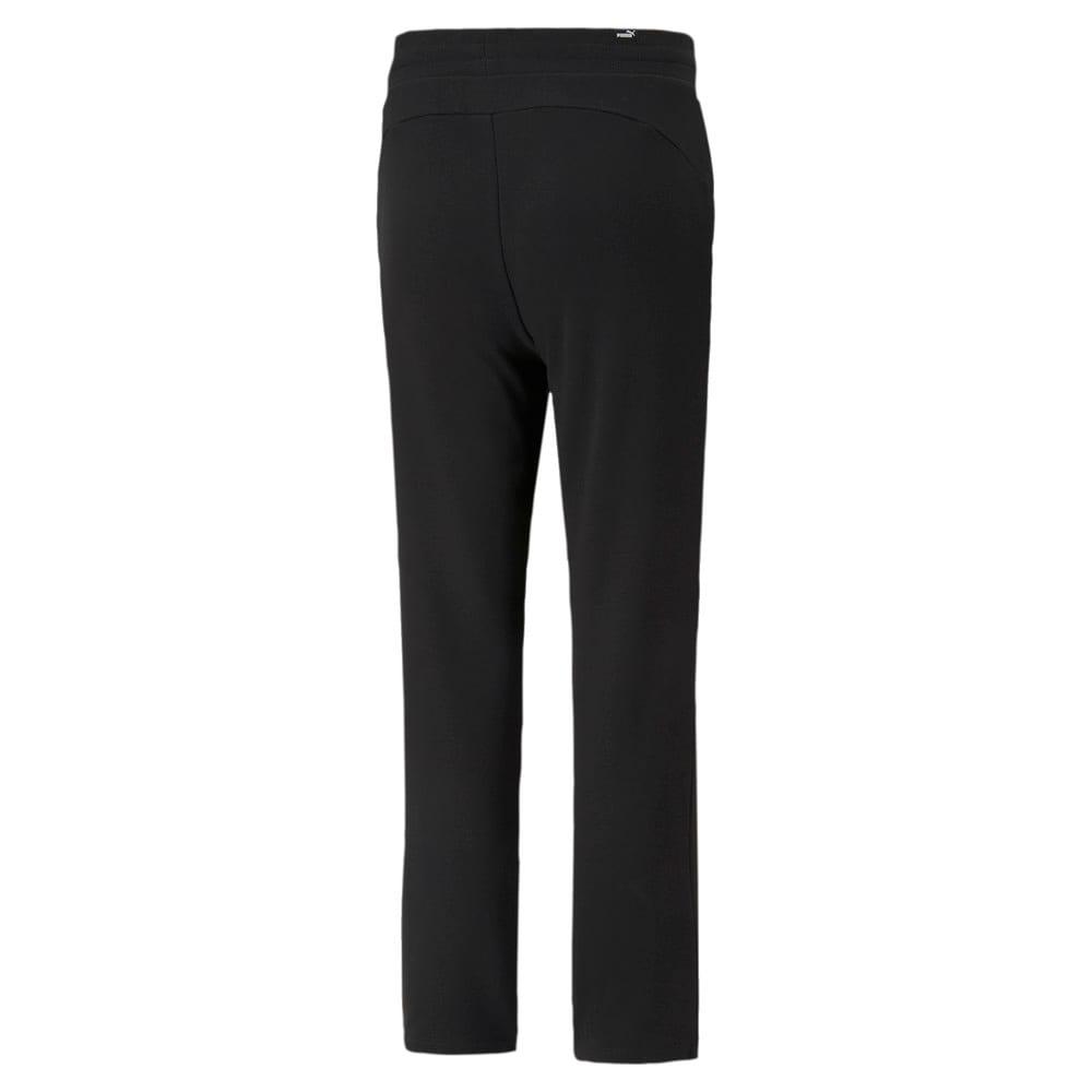 Изображение Puma Штаны Essentials Women's Sweatpants #2: Puma Black-Cat