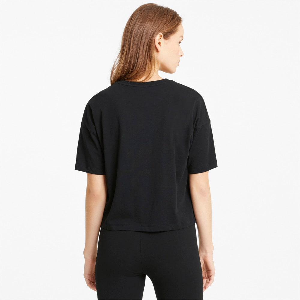 Изображение Puma Топ Essentials Logo Cropped Women's Tee #2