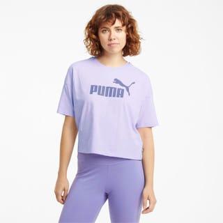 Изображение Puma Топ Essentials Logo Cropped Women's Tee