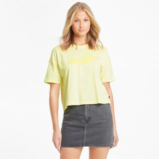 Зображення Puma Топ Essentials Logo Cropped Women's Tee