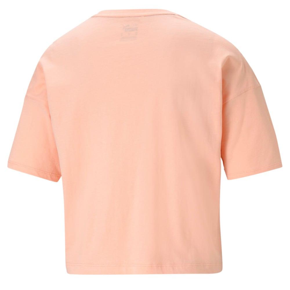 Image PUMA Camiseta Essentials Cropped Small Logo Feminina #2