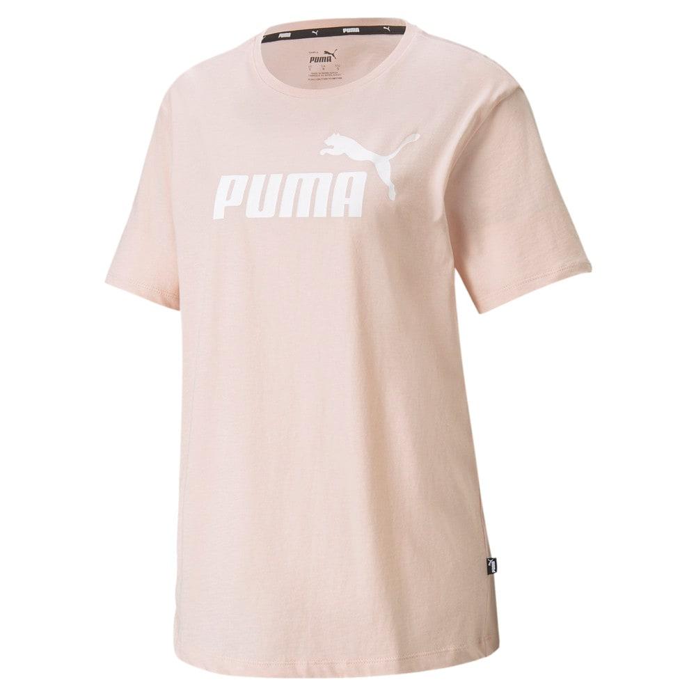 Изображение Puma Футболка Essentials Logo Boyfriend Women's Tee #1