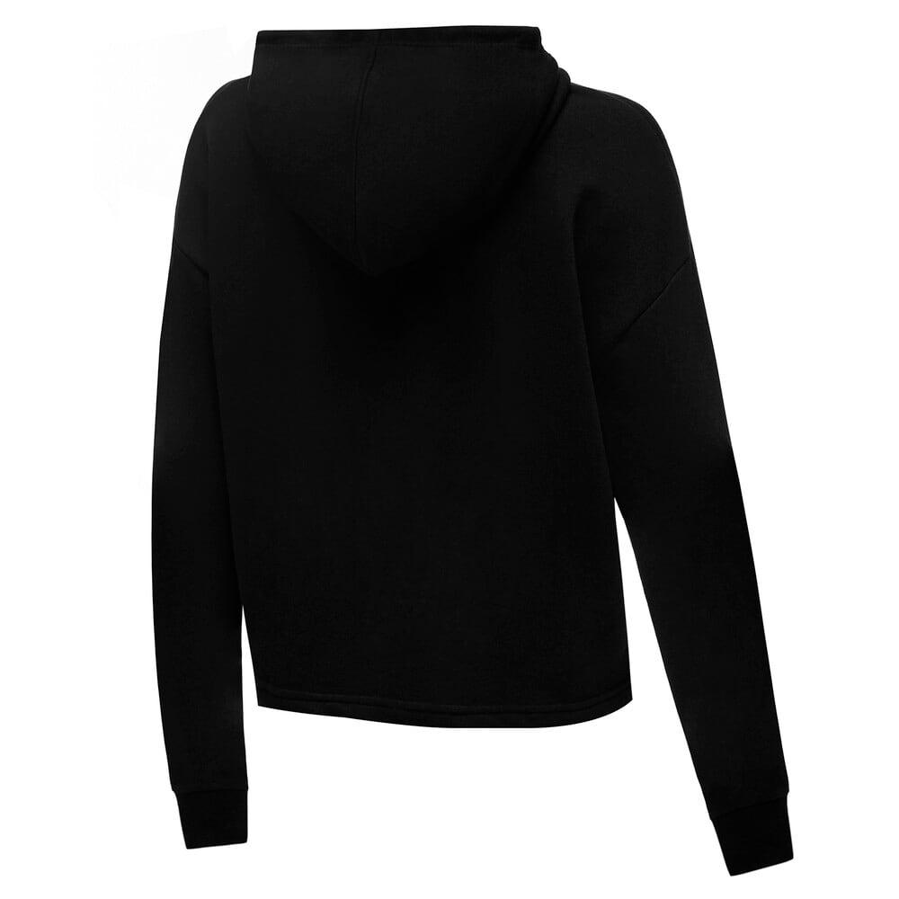 Изображение Puma Толстовка Essentials Logo Cropped Women's Hoodie #2