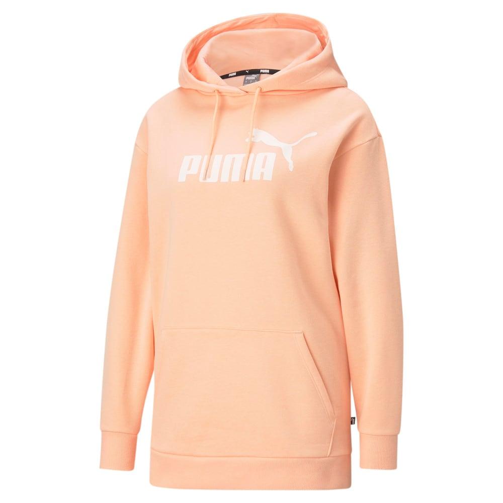 Image Puma Essentials Logo Elongated Women's Hoodie #1
