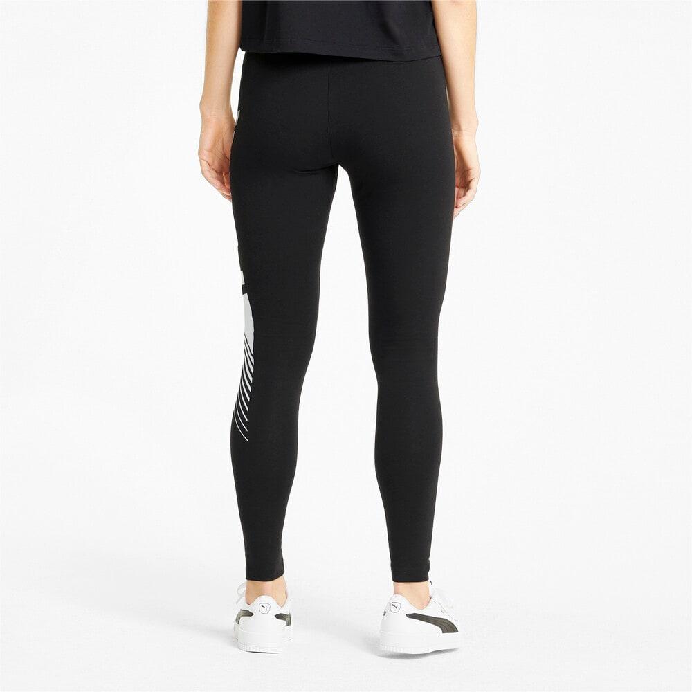 Изображение Puma Леггинсы Essentials Graphic Women's Leggings #2: Puma Black