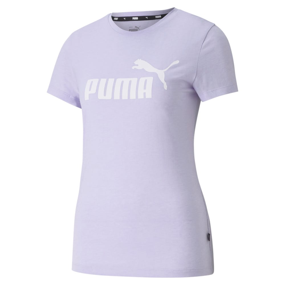 Зображення Puma Футболка Essentials Logo Heather Women's Tee #1