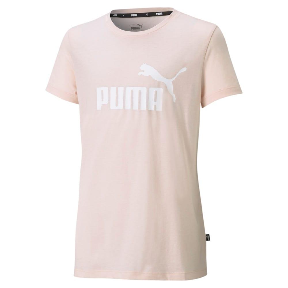 Изображение Puma Футболка Essentials Logo Heather Women's Tee #1