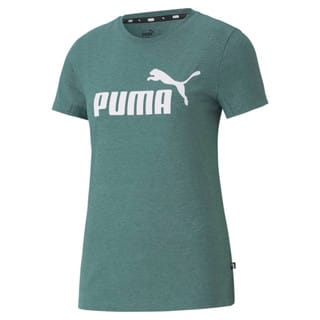 Зображення Puma Футболка Essentials Logo Heather Women's Tee
