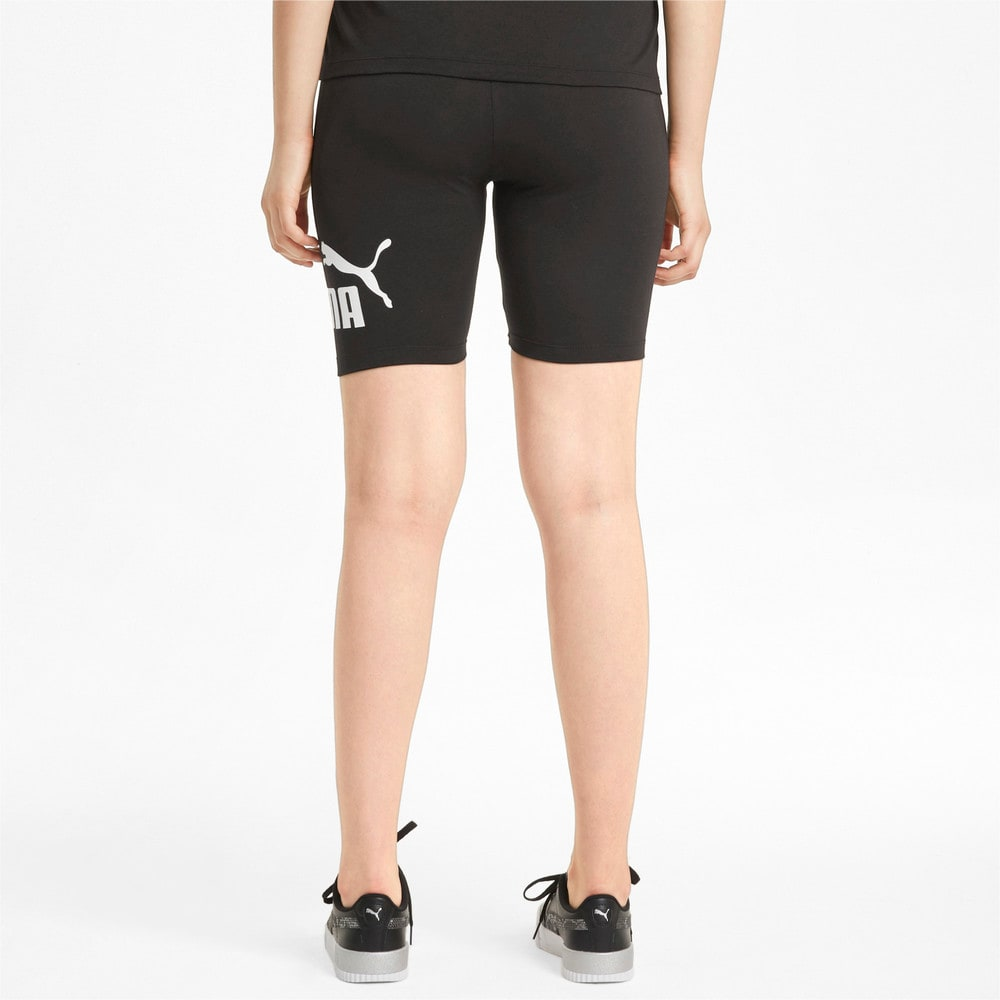 Изображение Puma Леггинсы Essentials Logo Women's Short Leggings #2