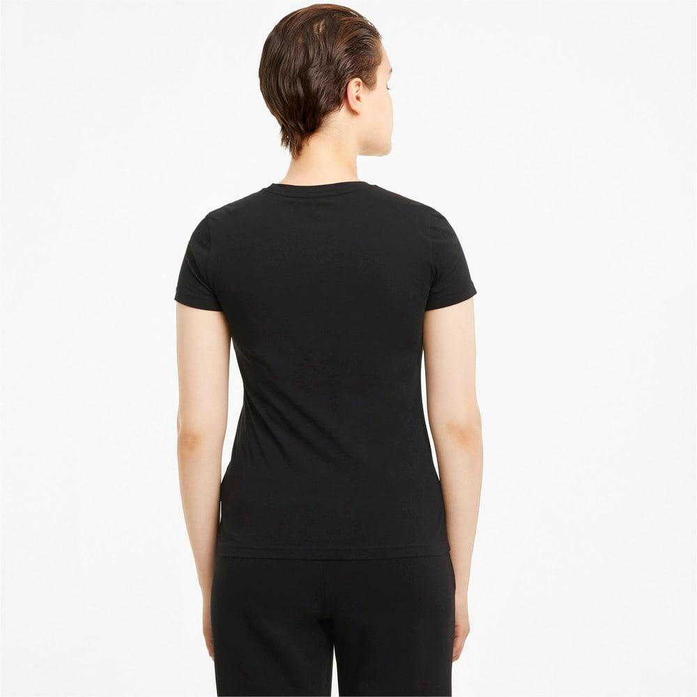 Image PUMA Camiseta Essentials+ Metallic Logo Feminina #2