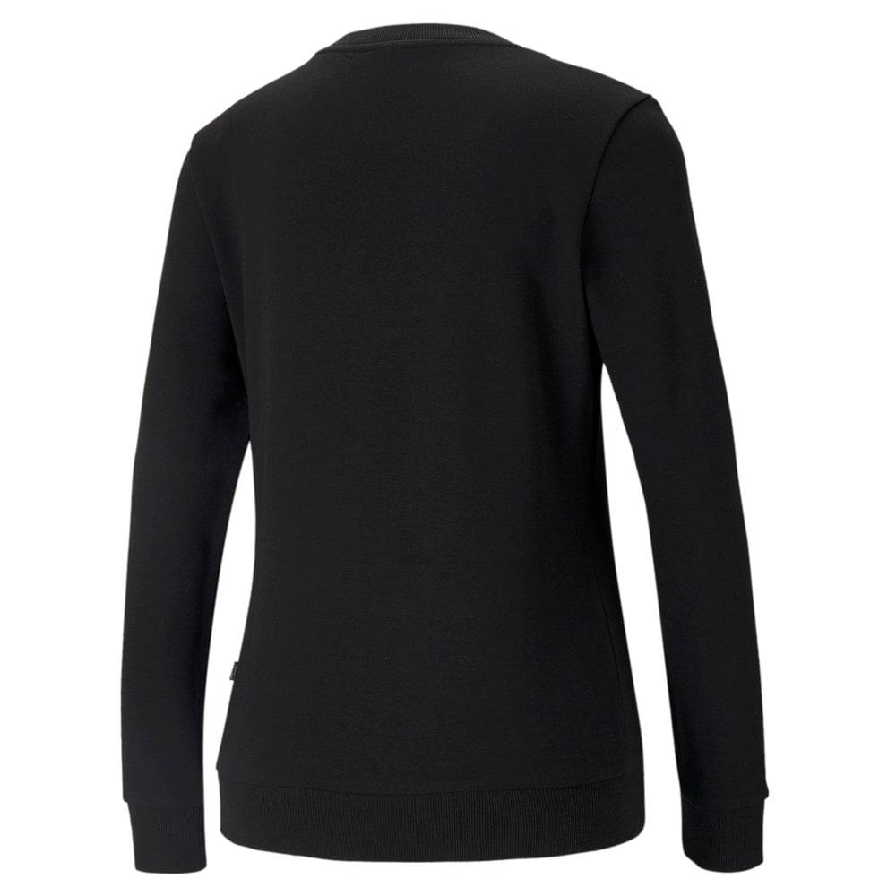 Изображение Puma Толстовка Essentials+ Metallic Logo Crew Neck Women's Sweater #2