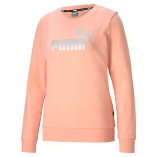 Изображение Puma Толстовка Essentials+ Metallic Logo Crew Neck Women's Sweater