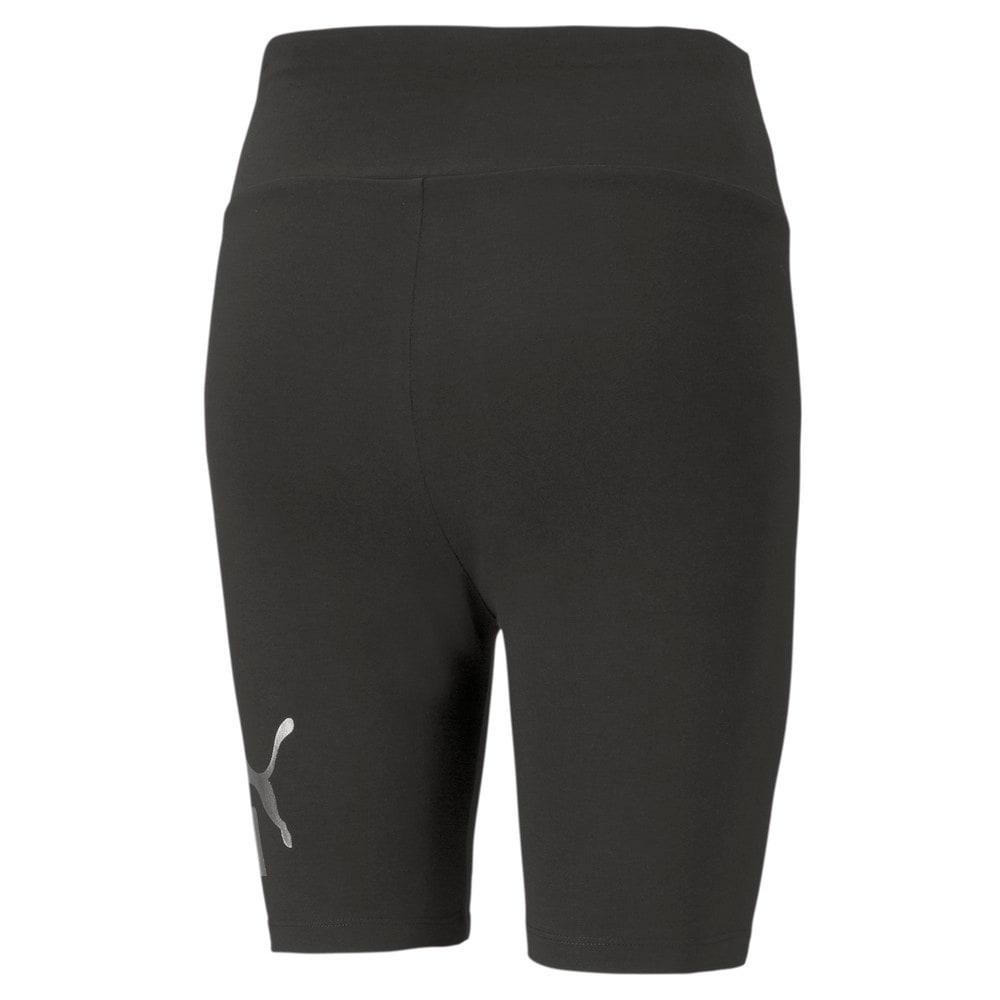 Image PUMA Legging Essentials Plus Metallic Short Feminina #2
