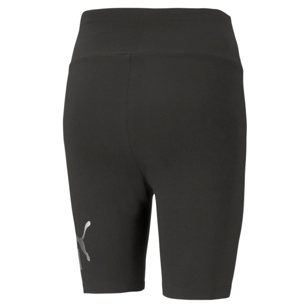 Изображение Puma Леггинсы Essentials+ Metallic Women's Short Leggings #2