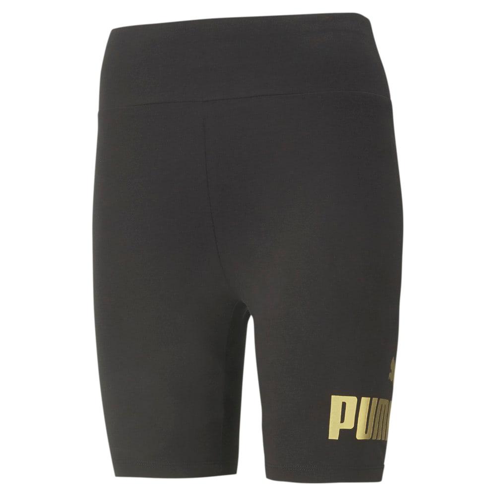 Image PUMA Legging Essentials Plus Metallic Short Feminina #1