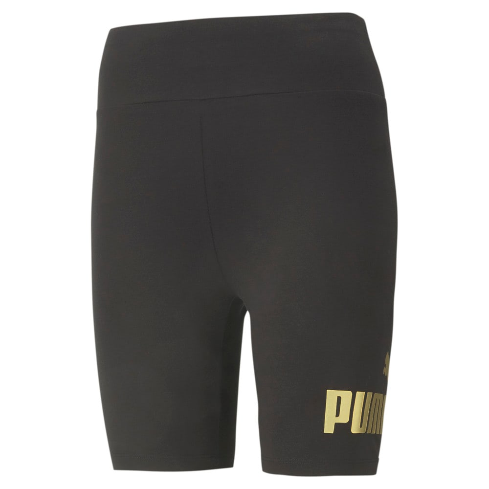 Изображение Puma Леггинсы Essentials+ Metallic Women's Short Leggings #1