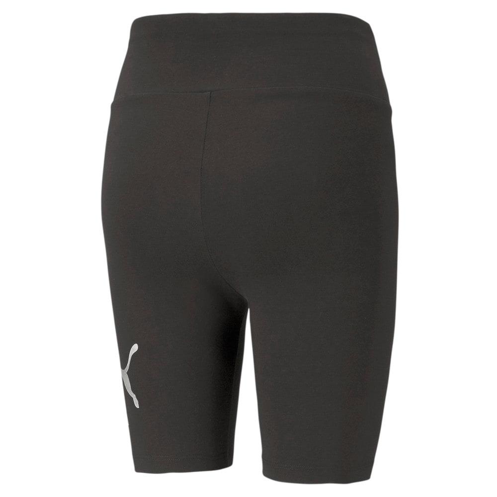 Изображение Puma Леггинсы Essentials+ Metallic Women's Short Leggings #2