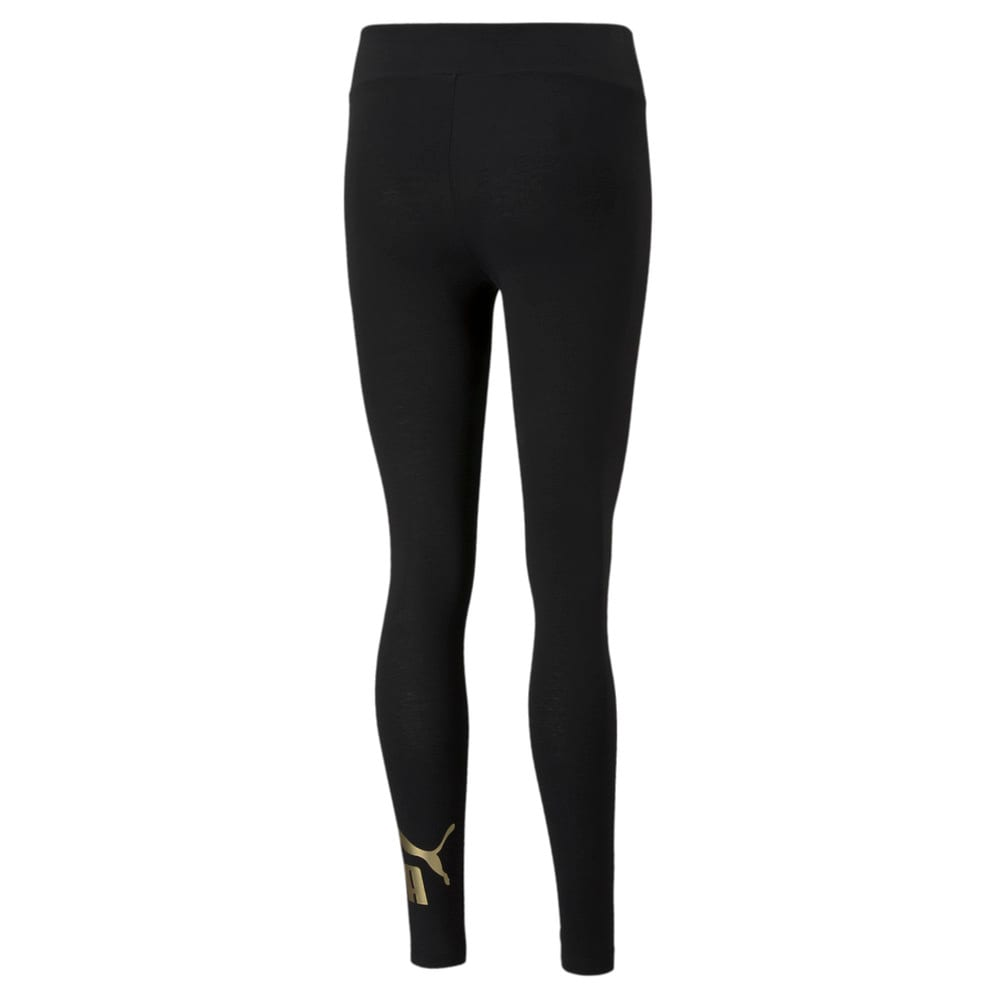 Изображение Puma Леггинсы Essentials+ Metallic Women's Leggings #2