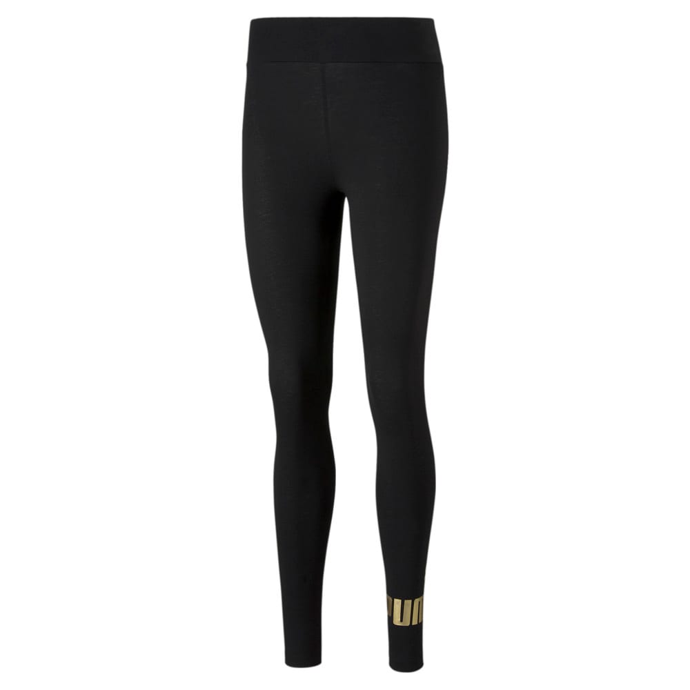 Изображение Puma Леггинсы Essentials+ Metallic Women's Leggings #1