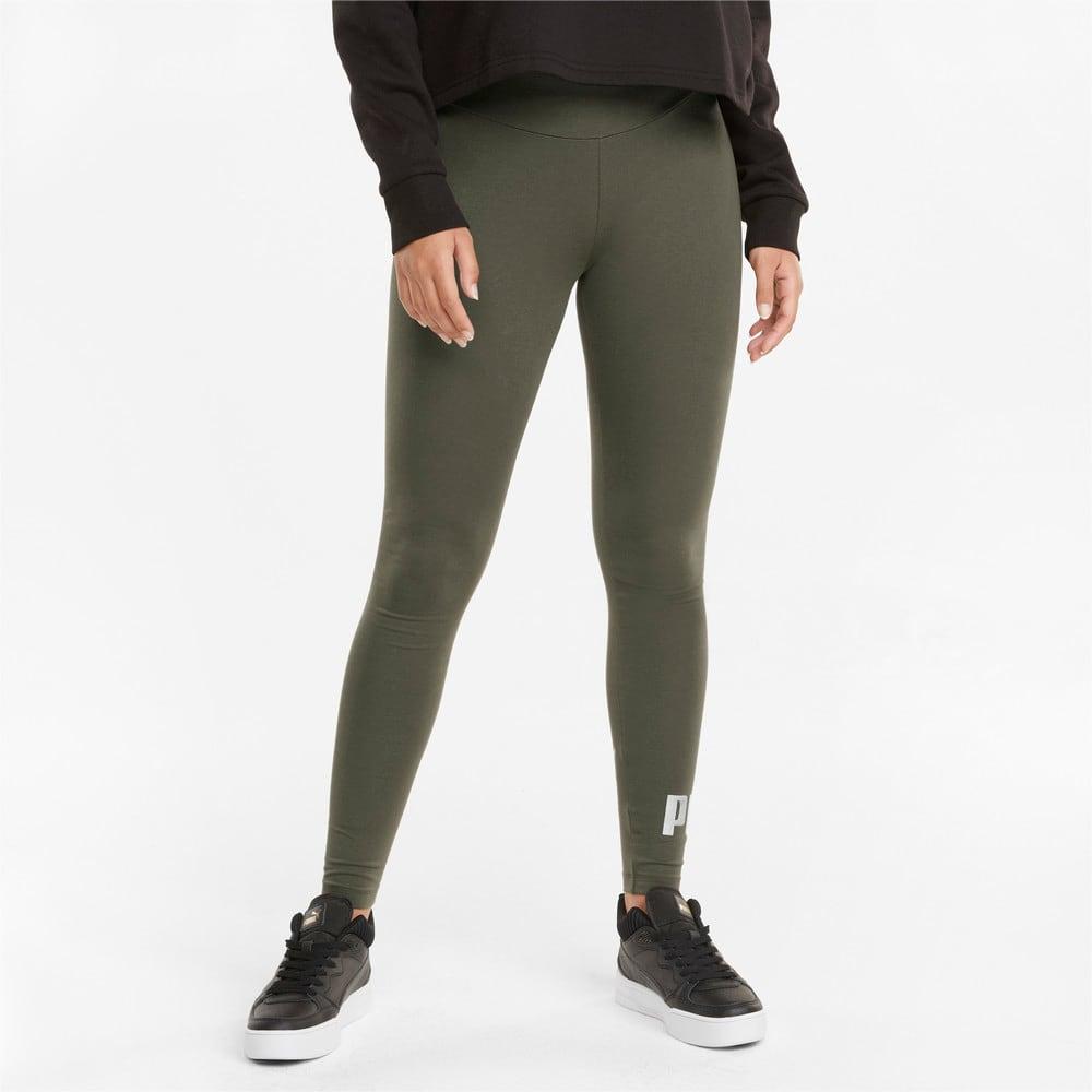 Изображение Puma Леггинсы Essentials+ Metallic Women's Leggings #1