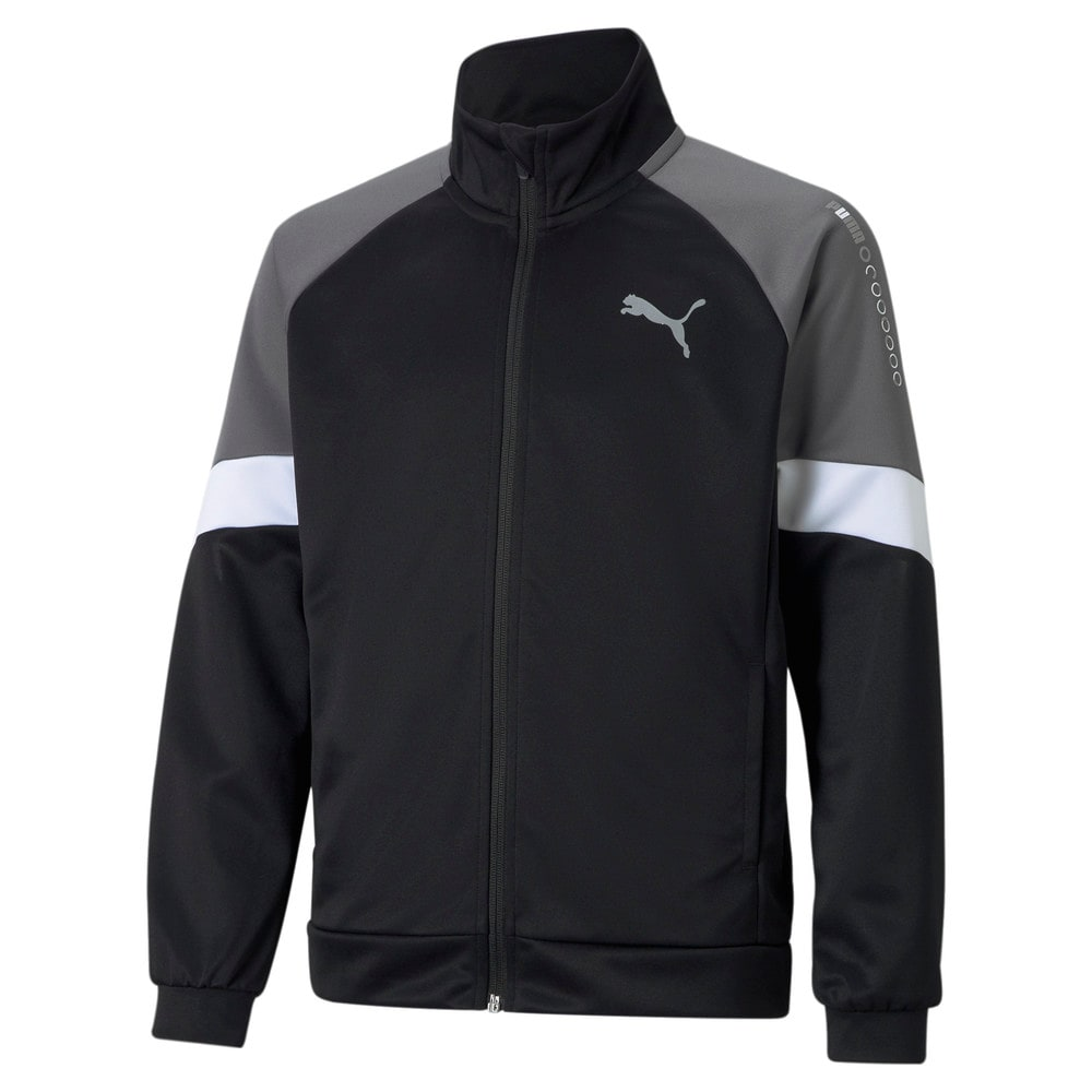 Изображение Puma Детская олимпийка Active Sports Poly Youth Track Jacket #1