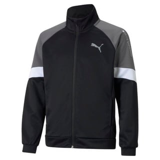 Изображение Puma Детская олимпийка Active Sports Poly Youth Track Jacket