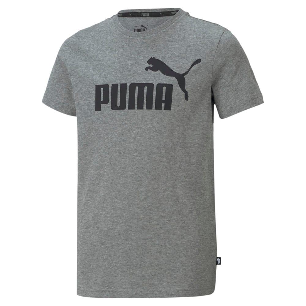 Изображение Puma Детская футболка Essentials Logo Youth Tee #1