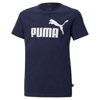 Изображение Puma Детская футболка Essentials Logo Youth Tee