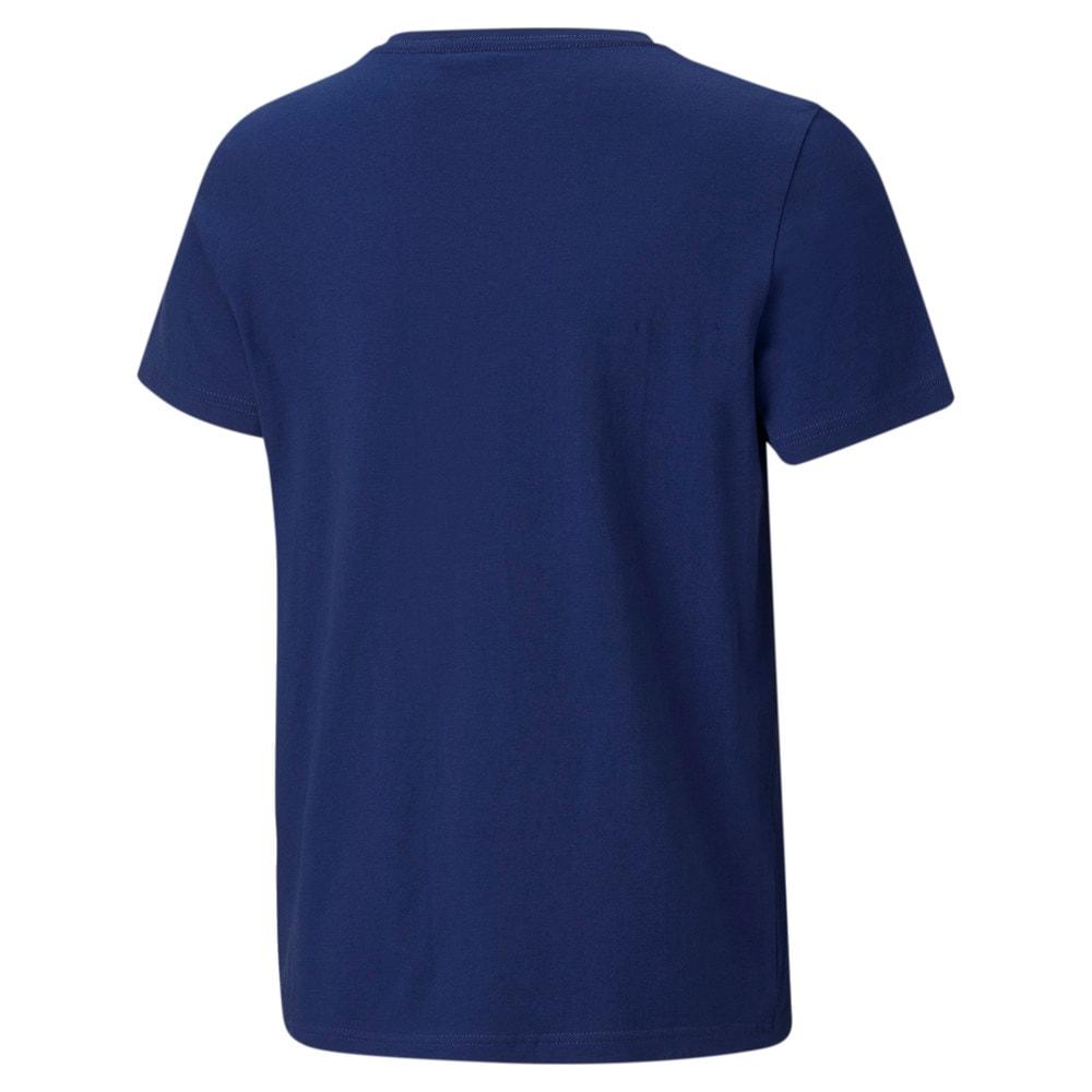 Изображение Puma Детская футболка Essentials Logo Youth Tee #2