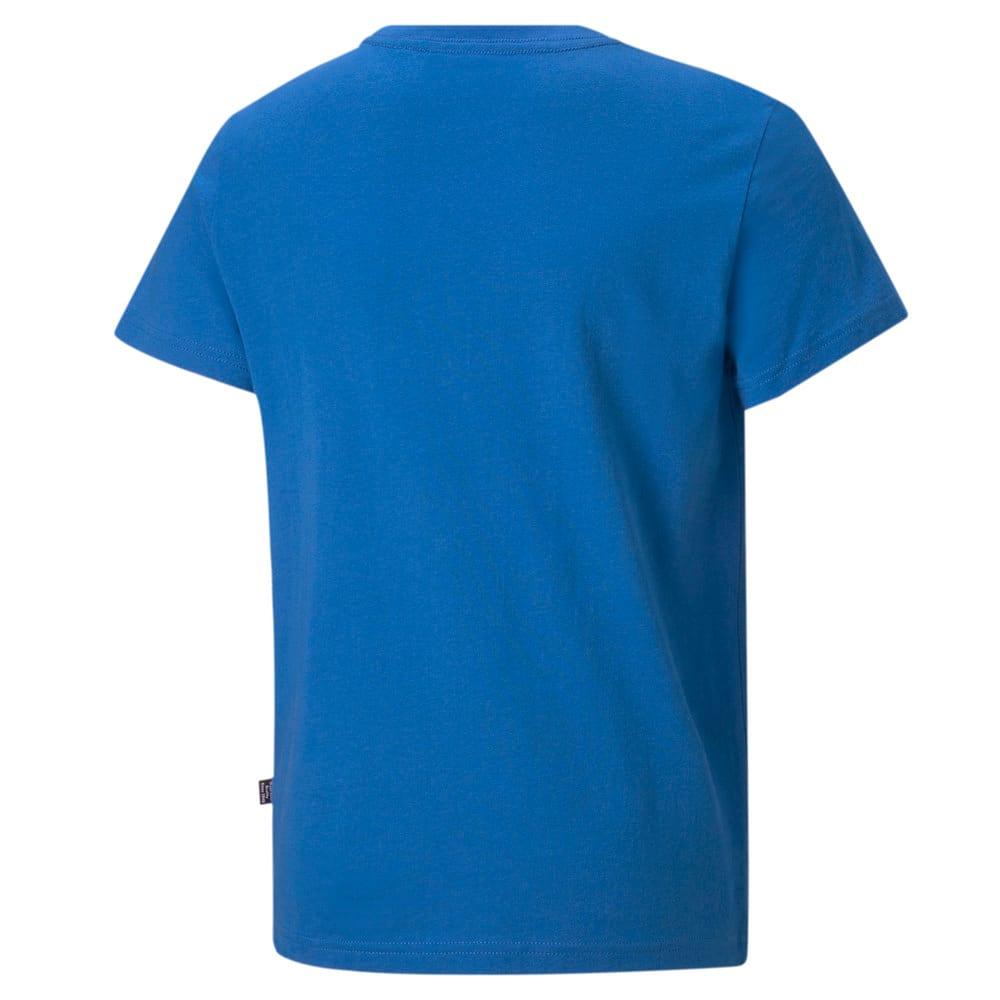 Зображення Puma Дитяча футболка Essentials Logo Youth Tee #2: Future Blue