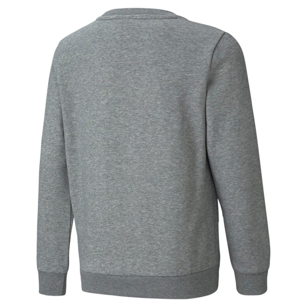 Imagen PUMA Polerón juvenil de cuello redondo y logotipo grande Essentials #2