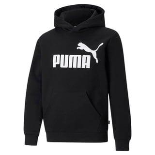 Imagen PUMA Polerón juvenil con capucha y logotipo grande Essentials