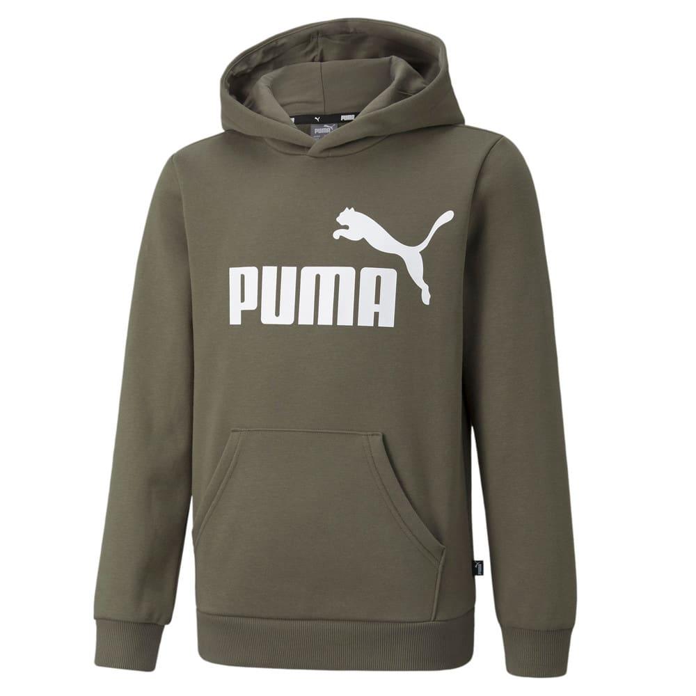 Изображение Puma Детская толстовка Essentials Big Logo Youth Hoodie #1