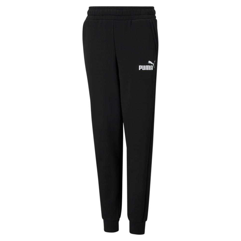 Imagen PUMA Pantalones juveniles Essentials Logo #1