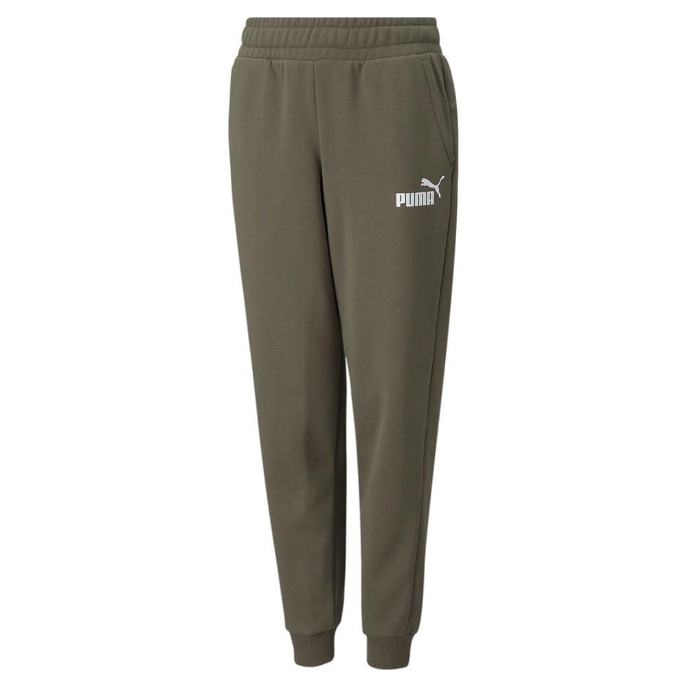 Зображення Puma Дитячі штани Essentials Logo Youth Pants #1: Grape Leaf
