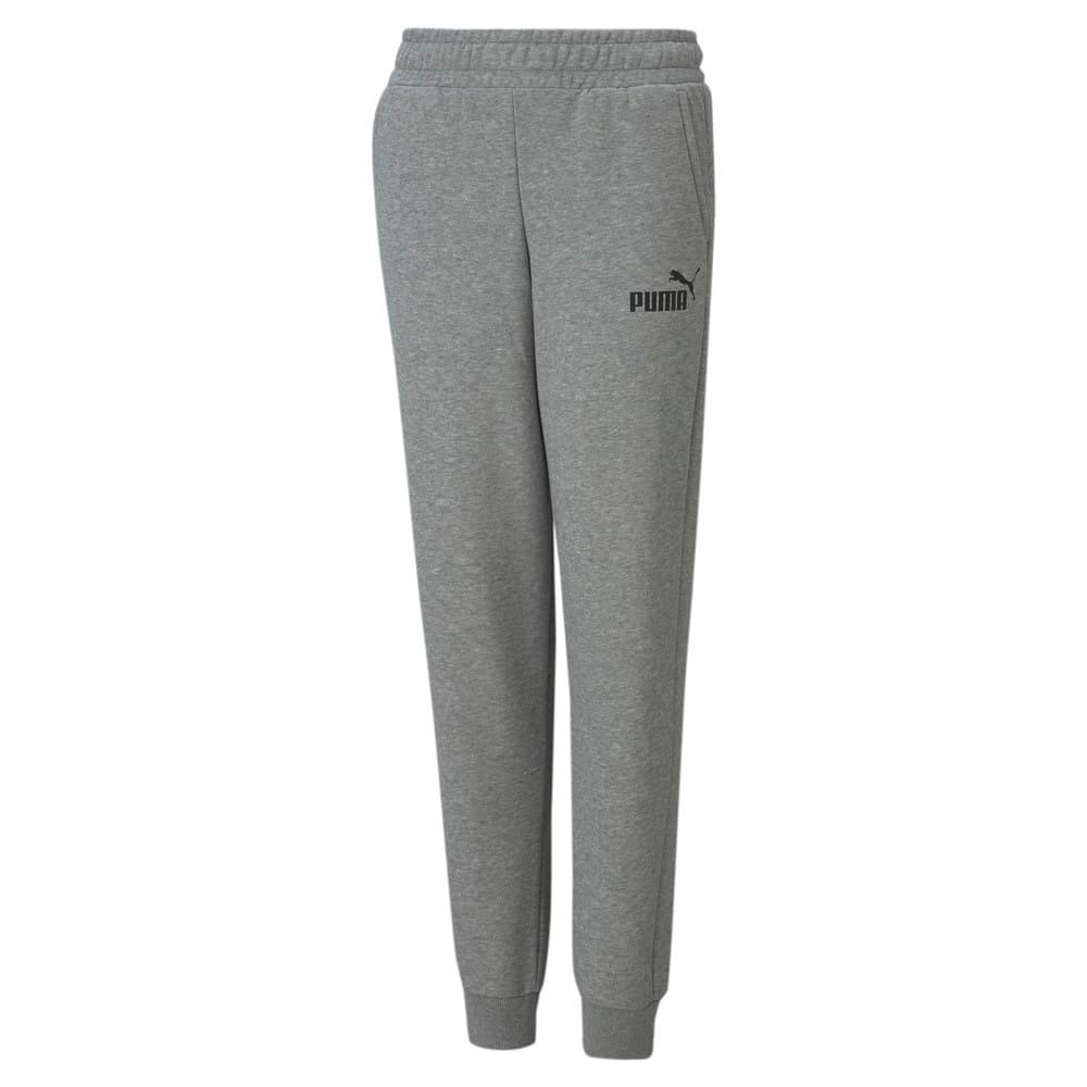 Изображение Puma Детские штаны Essentials Logo Youth Sweatpants #1
