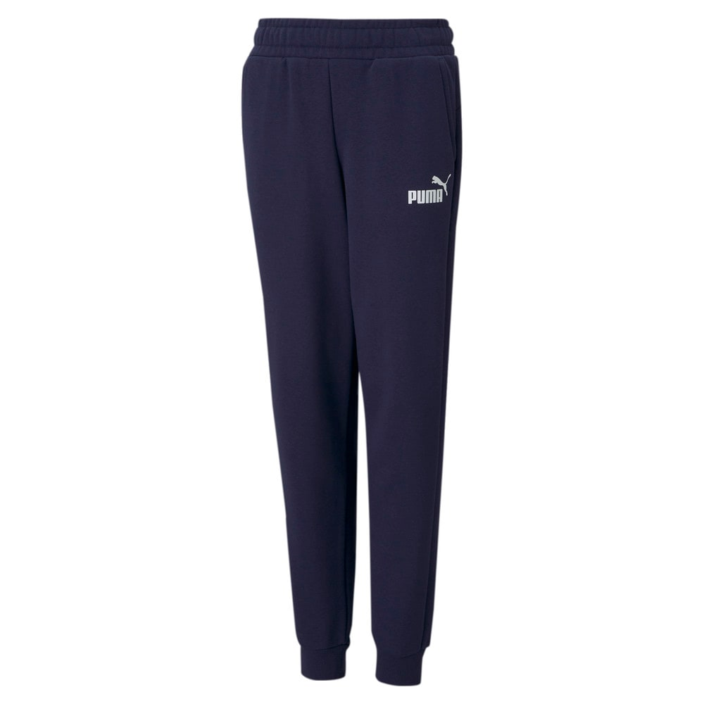 Изображение Puma Детские штаны Essentials Logo Youth Sweatpants #1