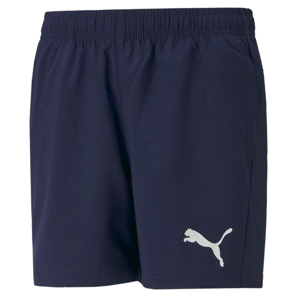 Изображение Puma Детские шорты Active Woven Youth Shorts #1
