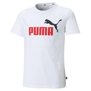 Изображение Puma Детская футболка Essentials+ Two-Tone Logo Youth Tee