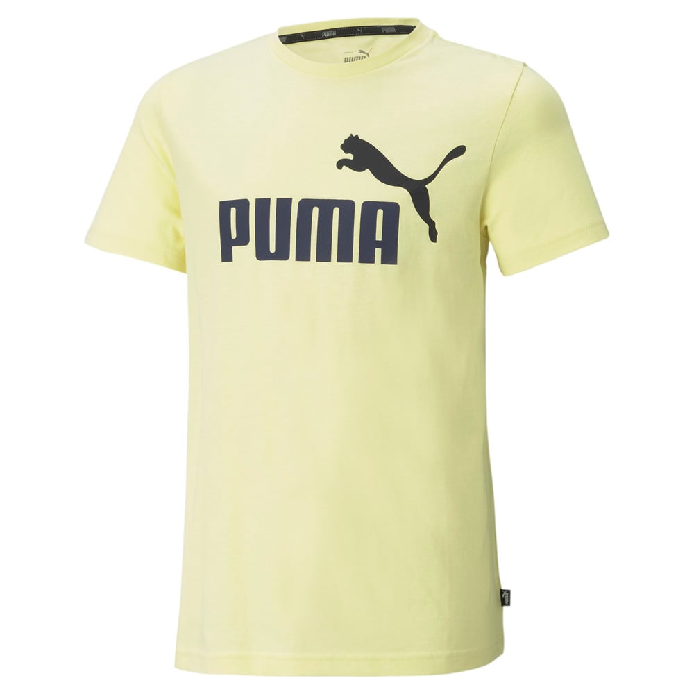 Зображення Puma Дитяча футболка Essentials+ Two-Tone Logo Youth Tee #1