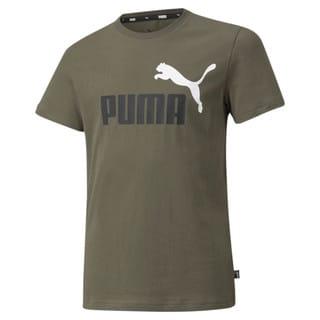 Изображение Puma Детская футболка Essentials+ Two-Tone Logo Youth Tee