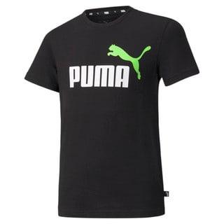 Зображення Puma Дитяча футболка Essentials+ Two-Tone Logo Youth Tee
