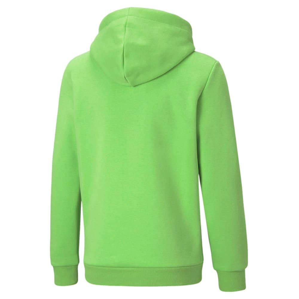 Зображення Puma Дитяча толстовка Essentials+ Two-Tone Big Logo Youth Hoodie #2: green flash