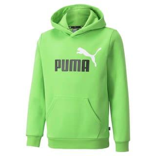 Зображення Puma Дитяча толстовка Essentials+ Two-Tone Big Logo Youth Hoodie