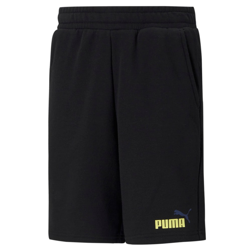 Изображение Puma Детские шорты Essentials+ Two-Tone Youth Shorts #1