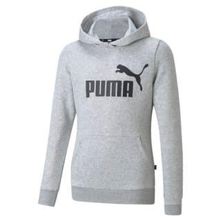 Image PUMA Moletom com Capuz Essentials Logo Juvenil