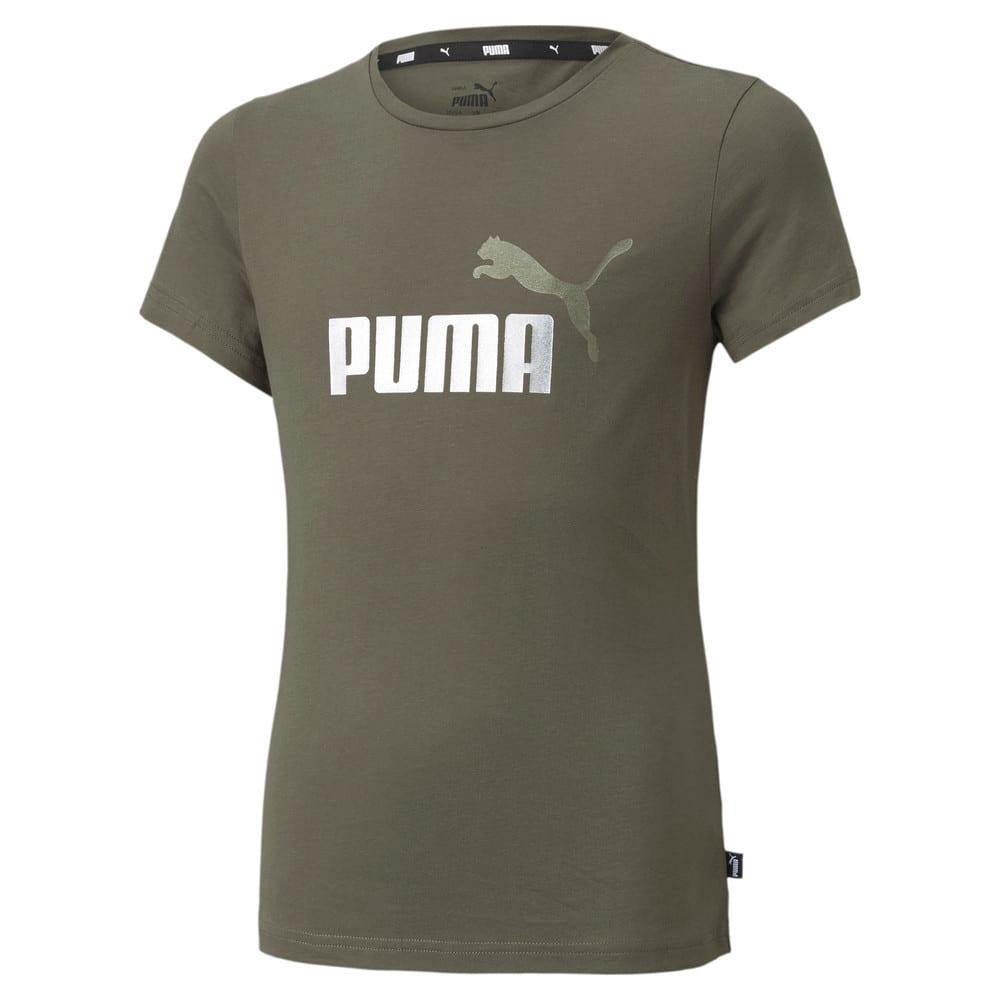 Зображення Puma Футболка Essentials Logo Youth Tee #1: Grape Leaf