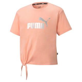 Image Puma Essentials+ Logo Silhouette Youth Tee